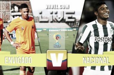 Resultado Envigado - Atlético Nacional (1-2)