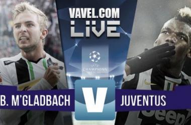 Resultado Borussia Monchengladbach - Juventus en Champions League 2015 (1-1)