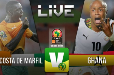 Resultado Final Copa de África 2015: Costa de Marfil - Ghana (0-0) (9-8 PEN)
