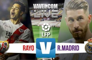 Resultado de Rayo Vallecano x Real Madrid no Campeonato Espanhol 2015/16 (2-3)