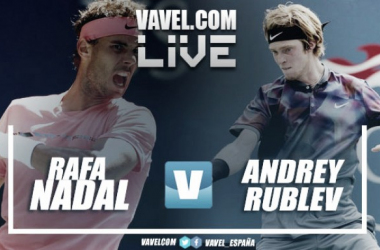 Nadal vs Rublev (2-0) Live Stream Updates and Score in Nitto ATP Finals