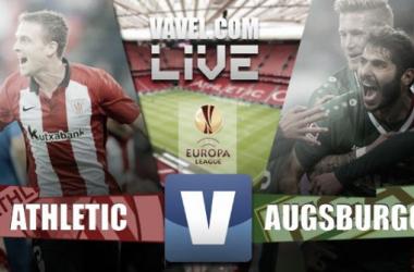 Athletic de Bilbao - Augsburgo en la UEFA Europa League (3-1)
