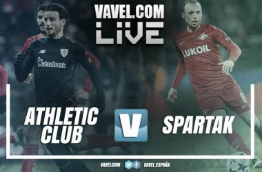 Athletic Club vs Spartak de Moscu en UEFA Europa League 2018 (1-2)