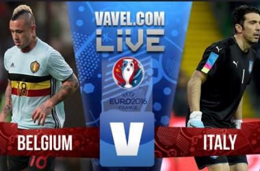 Terminado : Bélgica x Itália (0-2) no Euro 2016