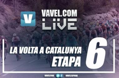 Resultado etapa 6 de la Volta a Catalunya: Impey gana y Froome pierde más de 25'