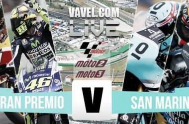 Resultado de la carrera de Moto 2 del Gran Premio de San Marino 2015