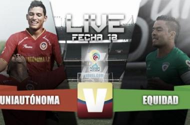 Resultado Uniautónoma - Equidad por la Liga Águila 2015-II (3-0)