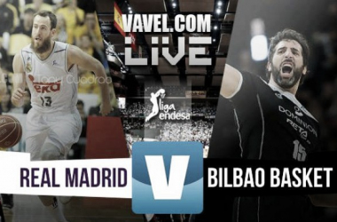 Real Madrid impone su ritmo ante Bilbao Basket (102-80)