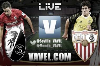 Resultado Friburgo - Sevilla (0-2)