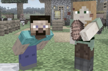 Steve e Alex de Minecraft serão lutadores de Super Smash Bros Ultimate