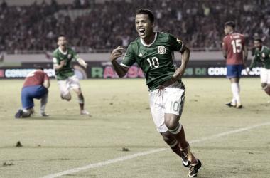 Giovanni participó en la jugada del gol | Foto: Selección Mexicana de Fútbol
