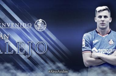 Iván Alejo ya es azulón. | Foto: Getafe CF