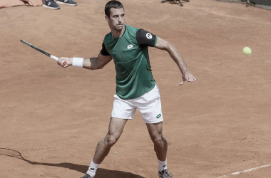 Laslo Djere venceuNikoloz Basilashvili no ATP 250 de Cagliari 2021 (ATP / Divulgação)