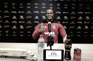 Barreiro ha sido titular todos los partidos a pesar de haber sido expulsado en dos cotejos | Foto: Atlas FC