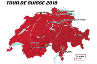 Giro di Svizzera 2018, il percorso tappa per tappa