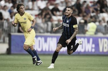 David Luiz e Icardi | twitter.com