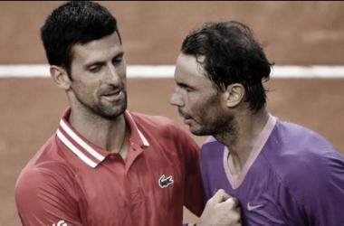 Novak Djokovic venceu Rafael Nadal em Roland Garros 2021 (ATP / Divulgação)