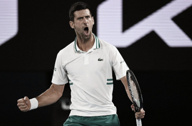 Nole buscará su tercer título consecutivo en Australia. Foto: Australian Open