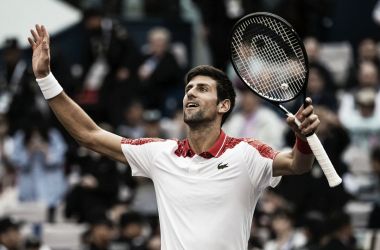 El serbió llegó a los 32 Masters 1000 en su carrera. Foto: goitiatenis (Twitter)