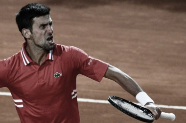 Novak Djokovic venceu Lorenzo Sonego noMasters 1000 de Roma 2021 (ATP / Divulgação)