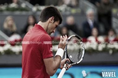 Djokovic no se encuentra