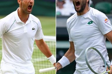Resumen y mejores momentos del Novak Djokovic 3-1 Matteo Berrentini