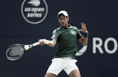 Djokovic al resto. Foto: Zimbio.com