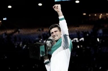 Resumen Novak Djokovic 3-0 Daniil Medvedev en la final Australian Open 2021 (7-5 6-2 6-2)