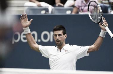 Novak Djokovic will bid for yet another major title on Sunday. (Photo: Eurosport)