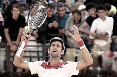 Djokovic avanzó a segunda ronda. Fuente: página oficial ATP Masters 1000 Roma