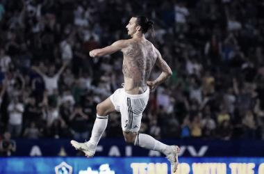 Zlatan Ibrahimovic, la principal estrella de los galácticos | Fotografía: LA Galaxy