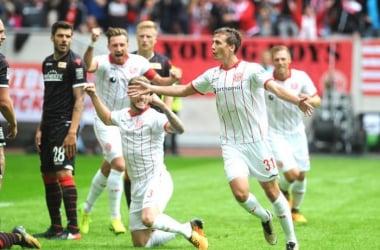 Sobottka open's the scoring. | Credit: Fortuna Düsseldorf