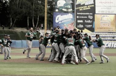 La novena de Tijuana levanta su primer campeonato mexicano | Foto: Liga Mexicana de Béisbol