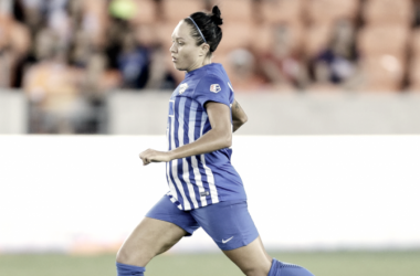 Kyah Simon in action for the Boston Breakers l Source: houstondynamo.com