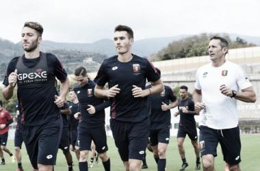 Source photo: profilo Twitter Genoa Calcio