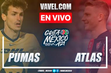 Resumen: Pumas 0-0 Atlas en Jornada 1 de Liga MX Apertura 2021