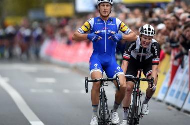 Ciclismo, costola fratturata per Trentin