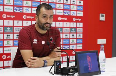 """Diego Martínez: """"Tenemos que tener todos claro que cada semana el fútbol empieza de nuevo"""""""