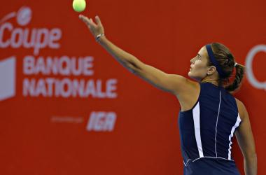 WTA Quebec: bene la Puig, avanza la Watson - Twitter
