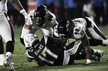 Pésima noche de Rivers, lo contrario para Baltimore | Foto: Ravens