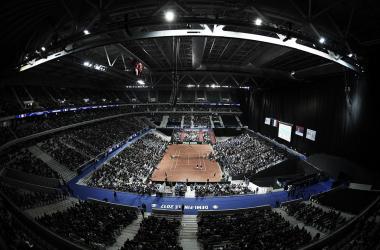 Estadio Pierre-Mauroy durante la semifinal del año 2017 entre Francia y Serbia. Foto: daviscup.com