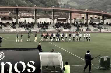 Imagen de archivo de un partido del Caudal. Foto: Caudal Deportivo
