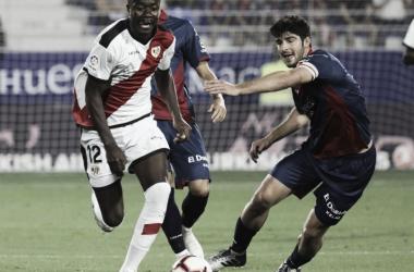 Imbula en una imagen del partido. Foto: La Liga