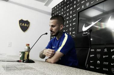 El delantero seguramente estará como titular en el clásico del domingo | Foto: Prensa Boca Juniors
