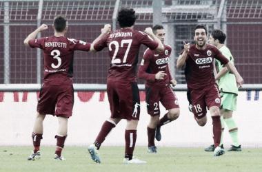 Serie B: il Frosinone mostra i muscoli, tre punti d'oro per la Pro Vercelli