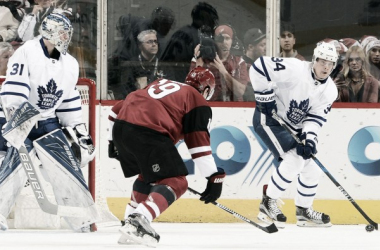 Auston Matthews and his Toronto Maple Leafs added insult to injury in defeating the Coyotes for their fourth straight loss on Friday night in Glendale, Arizona. Source: nhl.com