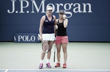 US Open: Martina Hingis y Coco Vandeweghe avanzan a paso firme