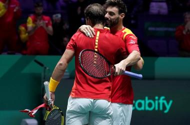 España elimina a Argentina y es semifinalista de la Copa Davis