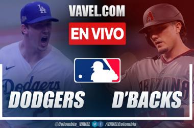 Resumen y carreras: Los Ángeles Dodgers 9-3 Arizona D'Backs en MLB 2021