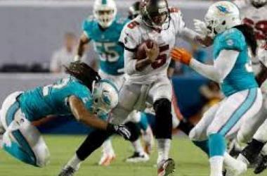 Miami no calibra ante unos Buccaneers que logran la primera victoria
